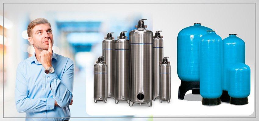 Reservatórios de Inox VS Composite PRFV. Quais as diferenças? | Blog Hidrofiltros - V2