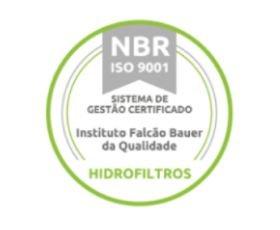 Hidrofiltros - Certificação ISO 9001