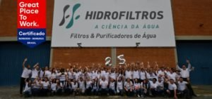 Hidrofiltros é reconhecida como uma Great Place To Work