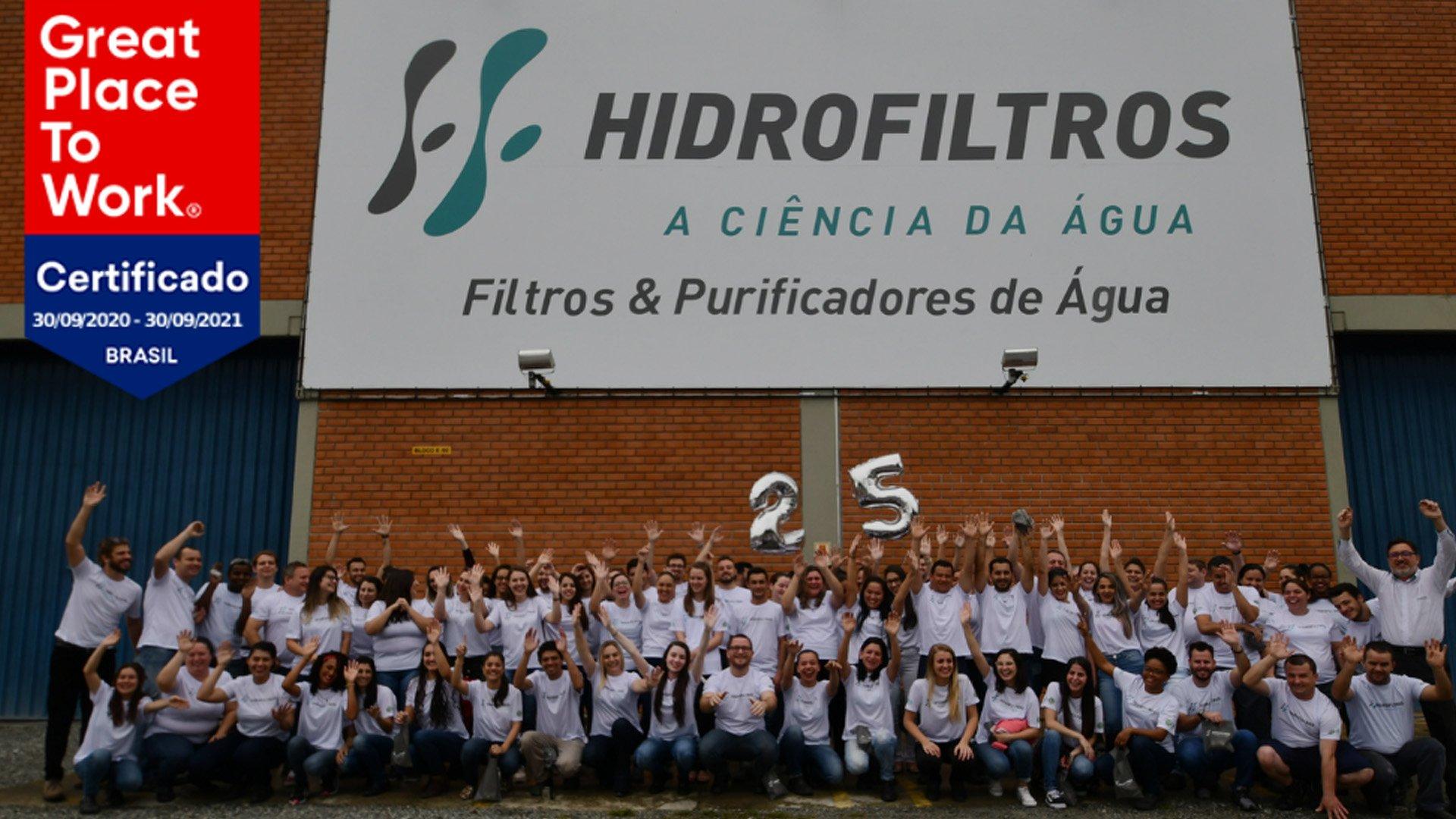 Imagem Destacada - Hidrofiltros é Great Place to Work - O melhor lugar para trabalhar na categoria de médio porte.