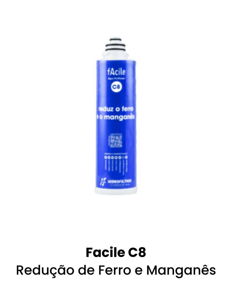 Facile C8 - Redução de Ferro e Manganês