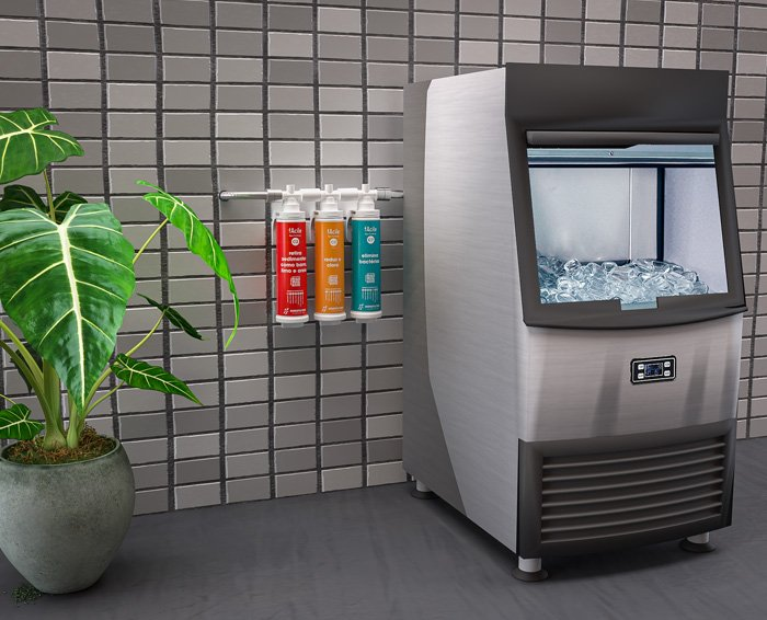 Hidrofiltros para o seu negócio - Máquina de Gelo